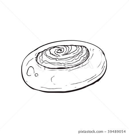 hand drawn bread 39489054