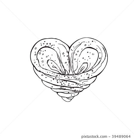 hand drawn bread 39489064