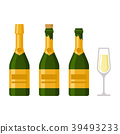 champagne, vector, bottle 39493233
