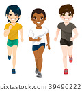 Teenager Boys Jogging 39496222