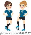 Soccer Girl Players 39496227