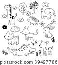動物 熊 梅花鹿 39497786