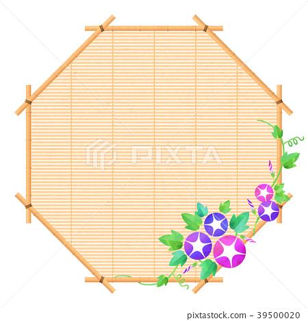 背景材料_牽牛花(粉紅色) 39500020