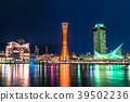 << Hyogo Prefecture >> Night view of Kobe Bay area 39502236