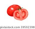 蔬菜 番茄 白色背景 39502398