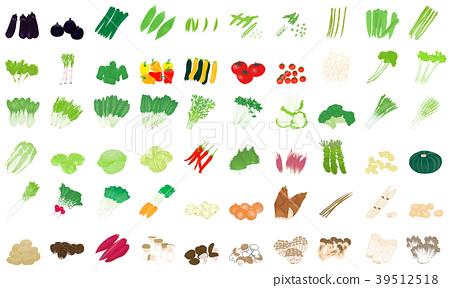 蔬菜 變體 一套 39512518