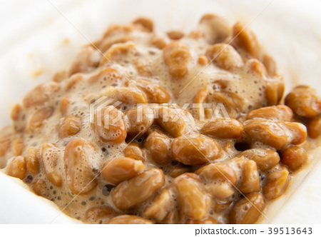 納豆包發酵食品傳統食品健康食品健康粘稠粘 39513643