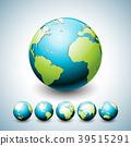 earth, vector, green 39515291
