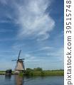 风车 风力涡轮机 荷兰 39515748