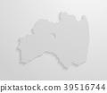 벡터, 지도, 도트 39516744