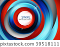 swirl, abstract, vector 39518111