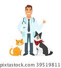cat, doctor, dog 39519811