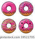 도넛, 간식, 간단한 39522705