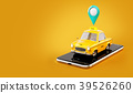 Smartphone application of taxi service 39526260