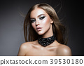 Beauty Woman face Portrait. Beautiful model Girl 39530180