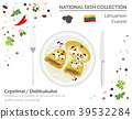 Lithuania Cuisine. European dish collection 39532284