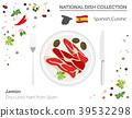 vector, Spanish, cuisine 39532298