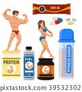 vector, diet, gym 39532302
