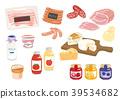 加工食品 熏肉 布里乾酪 39534682
