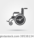 wheelchair icon chair 39536134