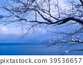 lake biwa, winter, lake 39536657