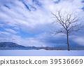 lake biwa, winter, lake 39536669