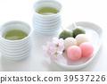 ชา,ฤดูใบไม้ผลิ,ดอกซากุระบาน 39537226