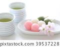 ชา,ฤดูใบไม้ผลิ,ดอกซากุระบาน 39537228