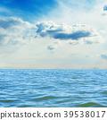 푸른, 배경, 파도 39538017