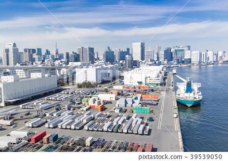集裝箱的港口 39539050