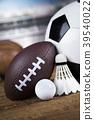 Sport, a lot of balls and stuff 39540022