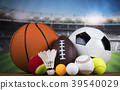 Sport, a lot of balls and stuff 39540029