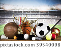 Winner trophy,  Sport equipment and balls 39540098