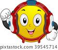 Smiley Mascot Wrestler Illustration 39545714