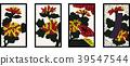 日本纸牌 花朵 花卉 39547544