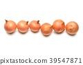 주의) 배경 흰색에 작은 상처 작은 쓰레기가 남아 있습니다. 뻬코로스 (쁘띠 양파), 작은 양파, 야채입니다. 39547871