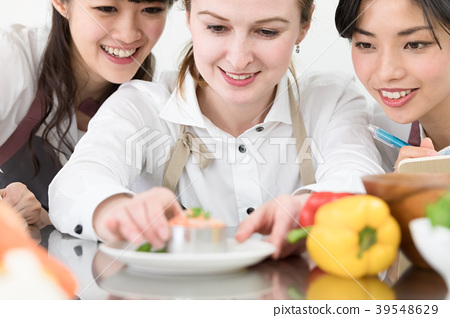 ชั้นเรียนทำอาหารไลฟ์สไตล์ของผู้หญิง 39548629