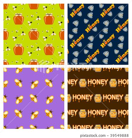 Honey jar food glass healthy delicious natural 39549888