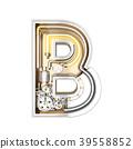 Mechanic alphabet ,letter B 39558852