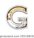 Mechanic alphabet ,letter G  39558858