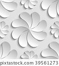 3d flower pattern 39561273
