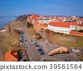 Aerial view of Grudziadz old town, Poland 39561564