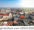 Aerial view of Grudziadz city in Poland 39561568