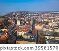 Aerial view of Grudziadz city in Poland 39561570