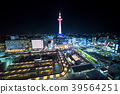 京都 Kyoto Prefecture 夜景 Night view of Kyoto Tower 39564251