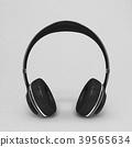Headphone black color 39565634