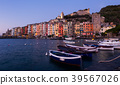 Portovenere La Spezia historical city at sea view, Italy 39567026