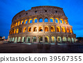 Colosseum in Rome, Italy at Night 39567355