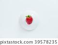 水果 盤子 草莓 39578235