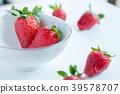 水果 盤子 草莓 39578707